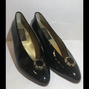 Sesto Meucci Italian Patton Leather Pumps Sz 7m